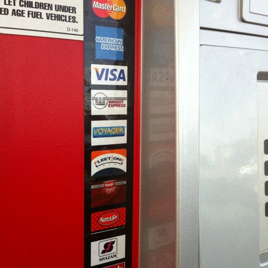 Photo taken at Kum & Go by Suzana S. on 3/28/2012