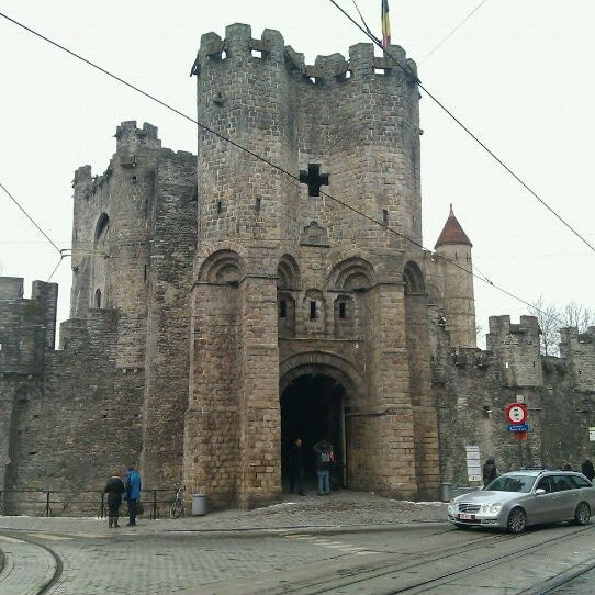 Photo taken at Castle of the Counts by Sander V. on 2/5/2012