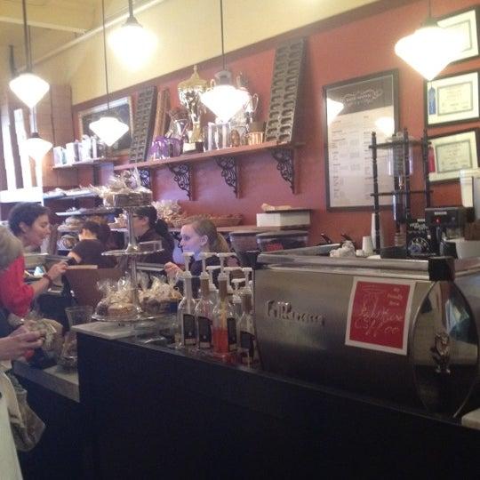 Photo taken at Bakery Nouveau by Elaia W. on 4/6/2012