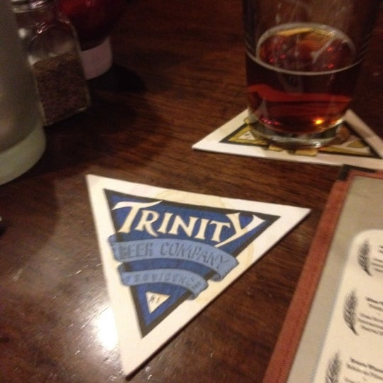 Photo taken at Trinity Brewhouse by Tara S. on 4/24/2012