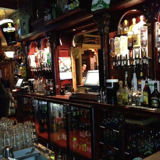 Fun, cozy Irish pub. Super friendly staff. food is actually good considering its a bar (4 of 4 petals via Fondu)