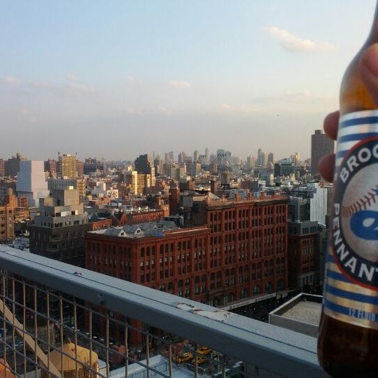 Photo taken at Meetup HQ Roof Deck by Norm R. on 3/13/2012