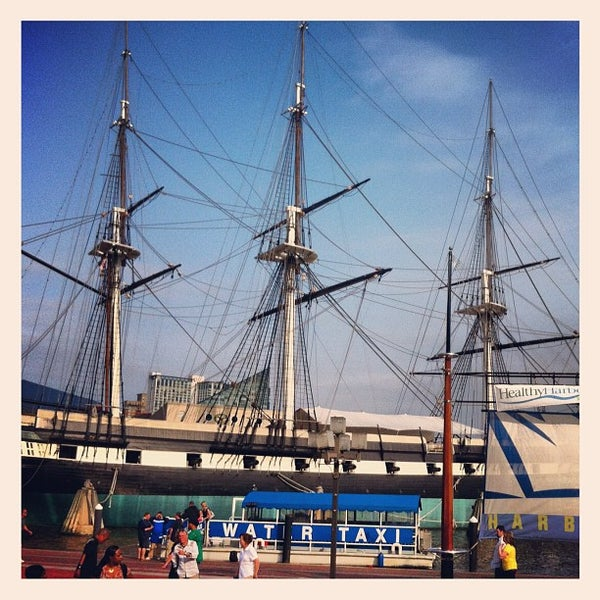 Photo taken at USS Constellation by Didier B. on 5/7/2012