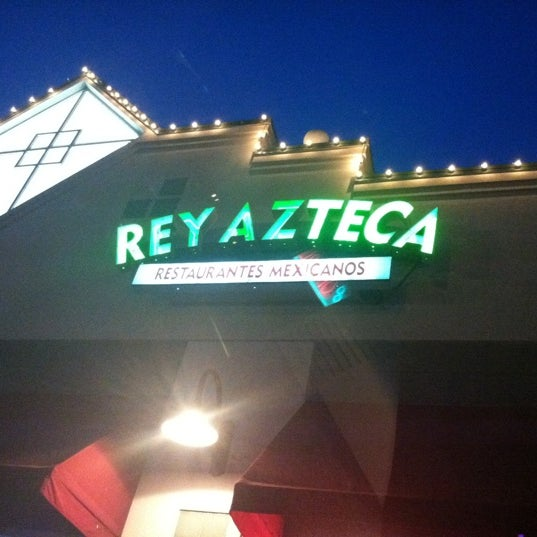 Photo taken at Rey Azteca Mexican Restaurant by Hannah B. on 2/24/2012