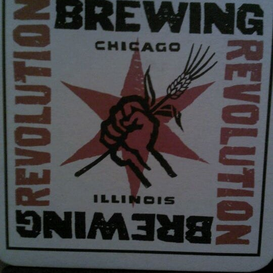 Photo taken at Revolution Brewing by Emilee E. on 3/3/2012