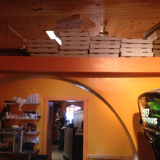 Photo taken at Jc's New York Pizza by Elizabeth G. on 5/26/2012