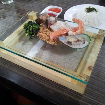 """Try """"Taste of The Sea"""" specially made by Chef Dimas (˘ڡ˘)"""