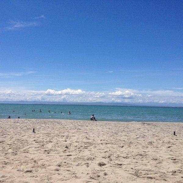 Photo taken at Playa El Yaque by Gregman R. on 9/11/2012