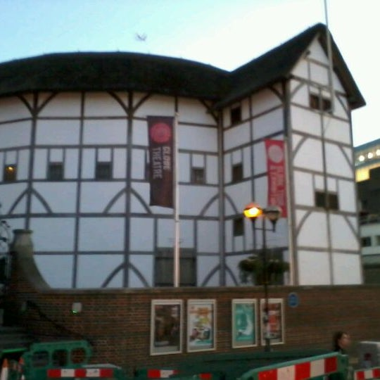 Photo taken at Shakespeare's Globe Theatre by Sarah C. on 3/19/2012