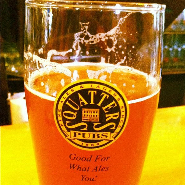 Photo taken at Squatters Pub Brewery by Telluride B. on 8/2/2012