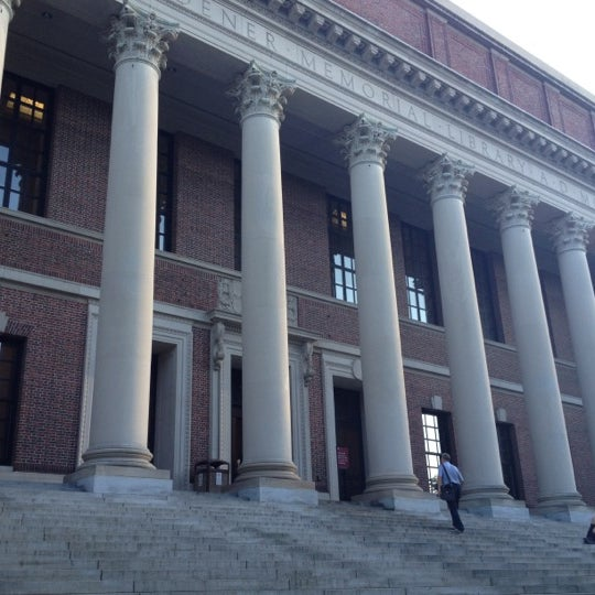 Photo taken at Widener Library by Heather B. on 6/28/2012