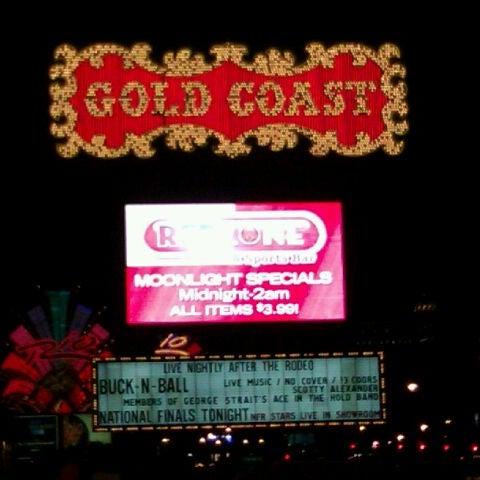 Photo taken at Gold Coast Hotel & Casino by Matthew P. on 12/2/2011