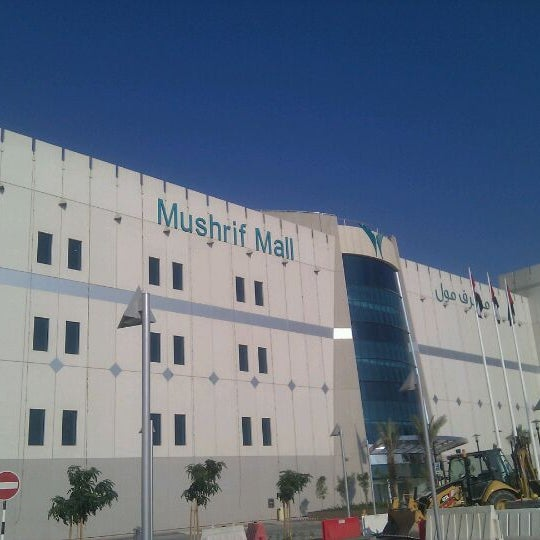 Photo taken at Mushrif Mall by Mohammad H. on 12/25/2011