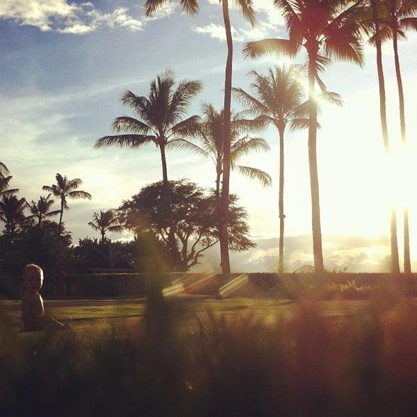 Photo taken at Sheraton Maui Resort & Spa by Matt W. on 10/14/2011