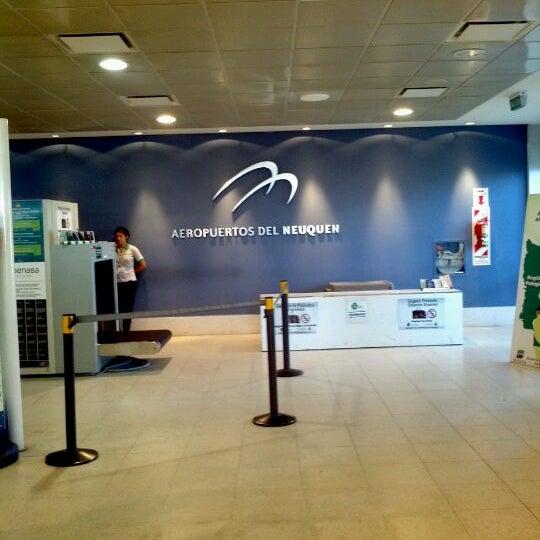 Foto tomada en Aeropuerto Internacional del Neuquén - Presidente Juan D. Perón (NQN) por Daniel R. el 1/1/2012
