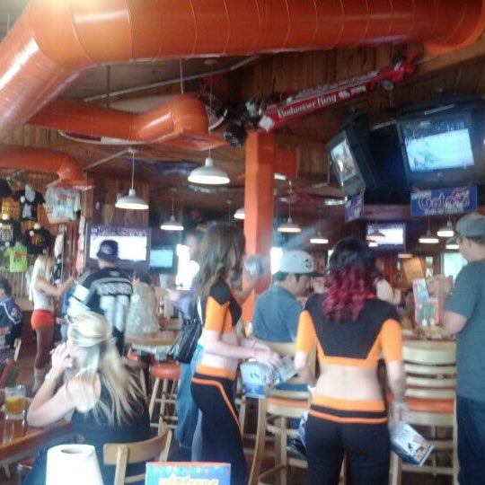 Photo taken at Hooters of Ontario by Chris K. on 6/3/2012