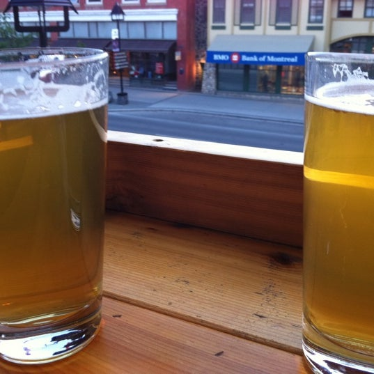 Photo taken at Banff Avenue Brewing Co. by Hanneke G. on 6/23/2011