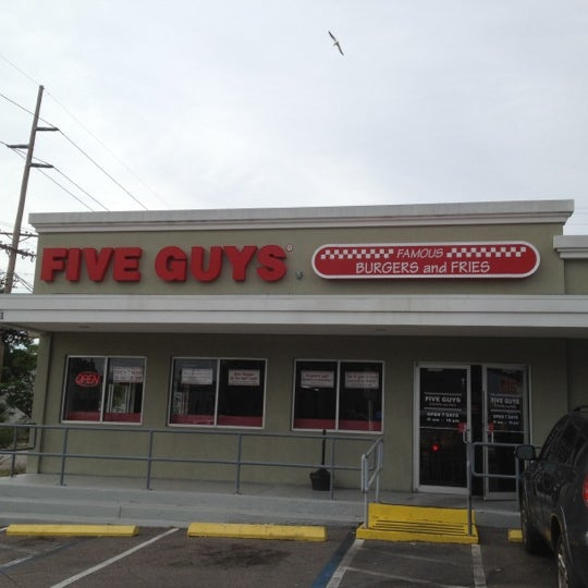 Welcome to Five Guys