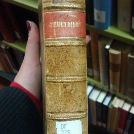 Photo taken at UWM Golda Meir Library by Elizabeth N. on 10/18/2011