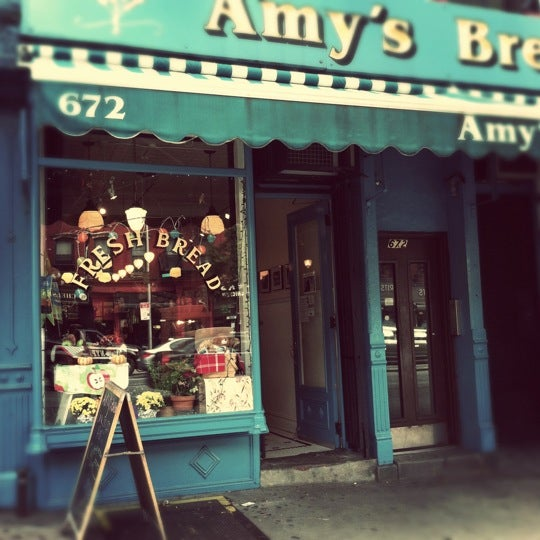 Amy's as to be my fave local bakery. I love everything but if I have to suggest anything I would say go for a sticky bun or the black olive twist.