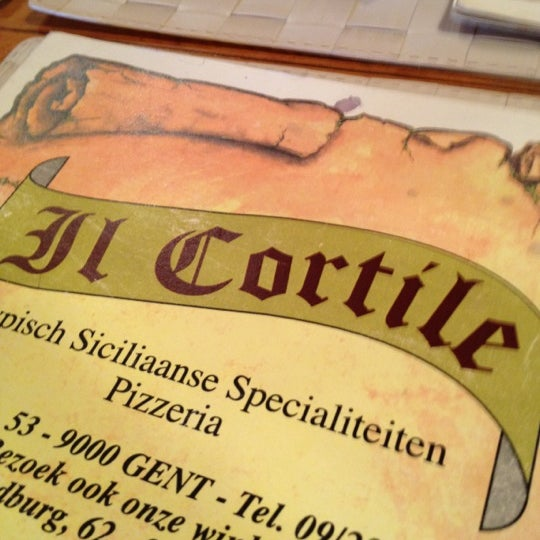 Photo taken at Il Cortile by Siegbert D. on 6/8/2012