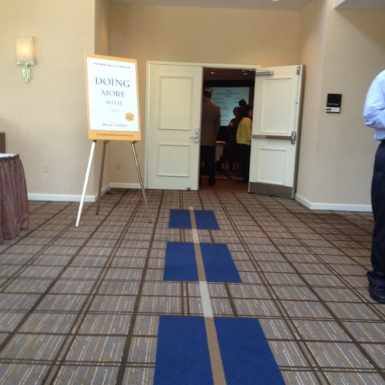 Photo taken at The Saratoga Hilton by Thom N. on 6/20/2012