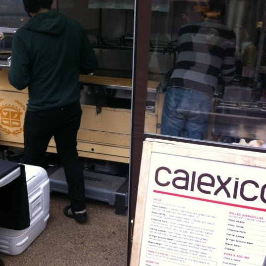 Photo taken at Calexico Cart by Mattan G. on 3/2/2012