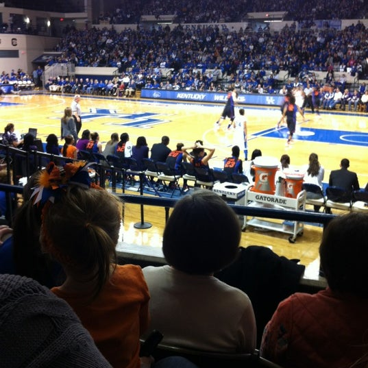 Photo taken at Memorial Coliseum by Ashleigh M. on 1/22/2012