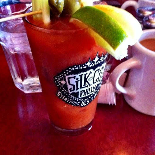 Photo taken at Silk City Diner Bar & Lounge by Christopher D. on 7/7/2012