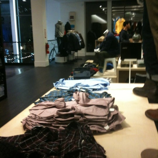 Photo taken at Gap by jo ann q. on 1/16/2012