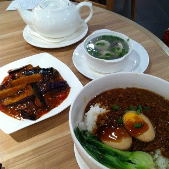 Photo taken at XiMenDing (西门町) Taiwan Cuisine by Sebrena C. on 1/5/2011
