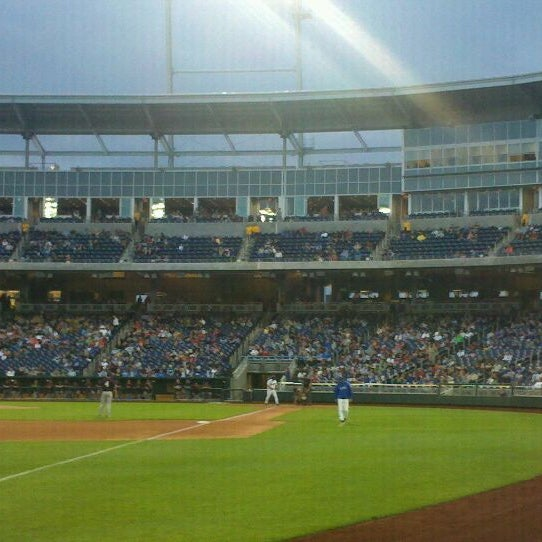 Photo taken at TD Ameritrade Park by Sally S. on 5/21/2011
