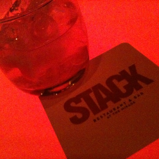 Photo taken at STACK Restaurant & Bar by Evan O. on 3/30/2011