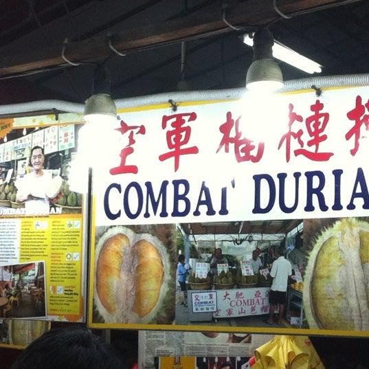 """Photo prise au """"Combat"""" Top Quality Durian par Joe Lim le6/23/2012"""