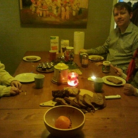 Photo taken at Breakfast Table by Elza v. on 12/25/2011