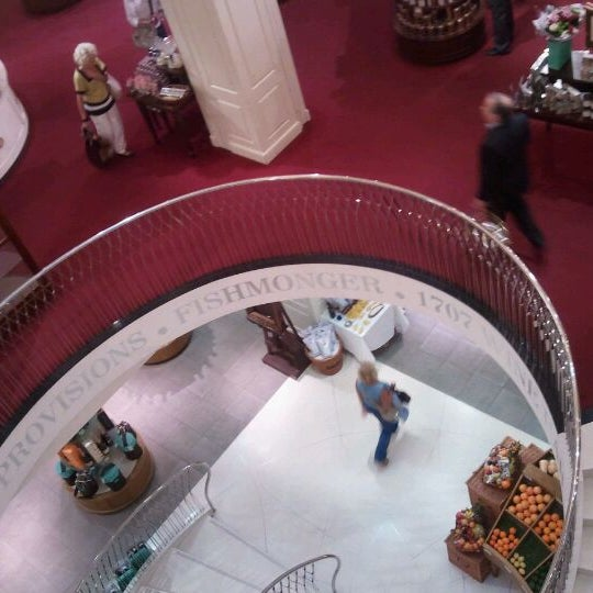Photo taken at Fortnum & Mason by Tricia K. on 9/30/2011