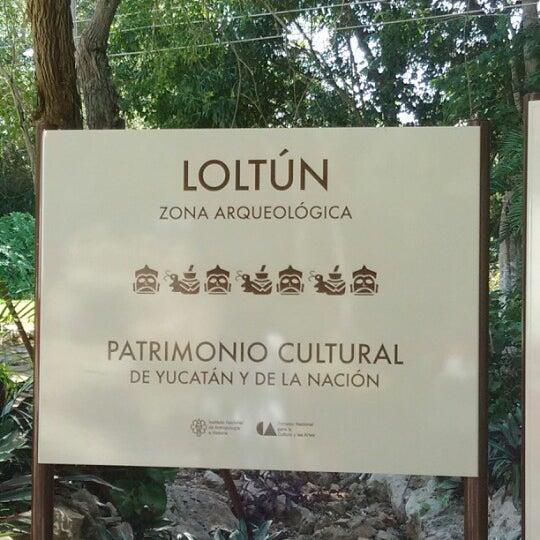 Photo taken at Grutas de Loltún by Daryl R. on 7/26/2012
