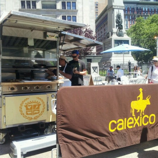 Photo taken at Calexico Cart by Ron M. on 7/10/2012