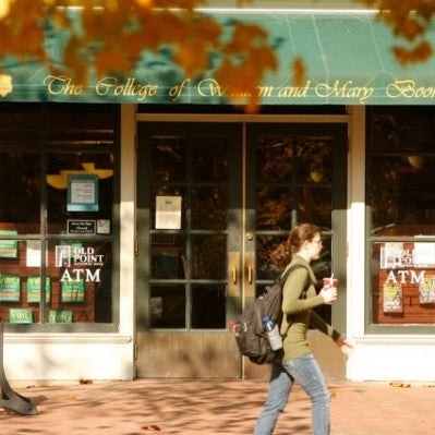 Photo taken at College of William & Mary Bookstore by William & Mary on 1/19/2011