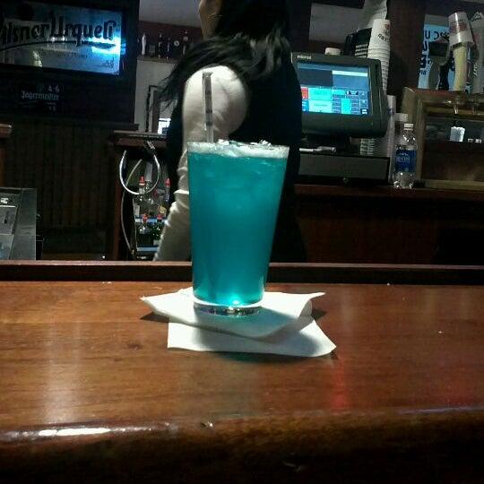 Order the blue long island (ish island)