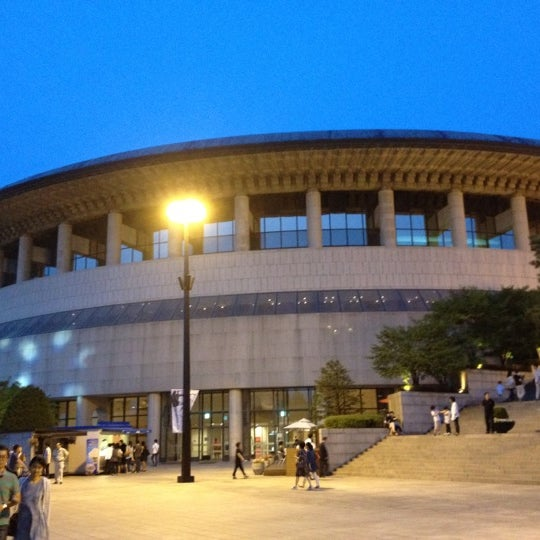 Photo taken at Seoul Arts Center by Wooseok K. on 6/19/2012