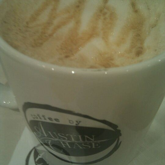 Photo taken at Austin Chase Coffee by zMiey ;. on 2/18/2012