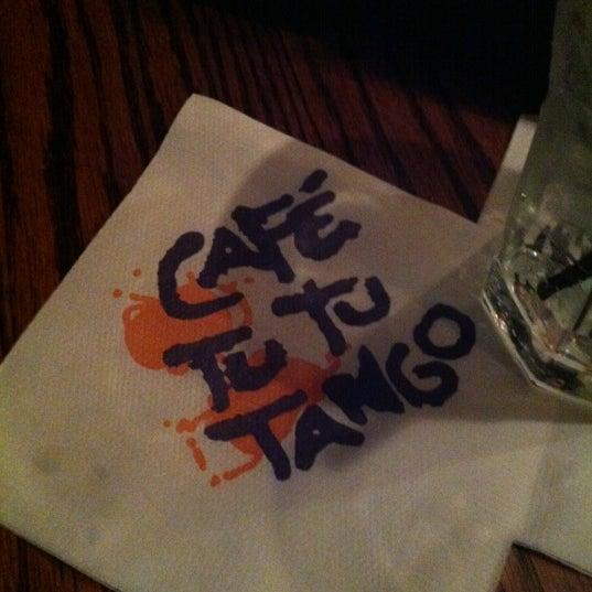 Photo taken at Café Tu Tu Tango by BRINK Magazine on 3/30/2012