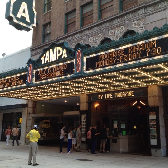 Photo taken at Tampa Theatre by Oksana G. on 7/13/2012