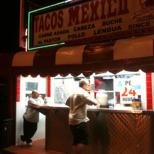 Photo taken at Javier's Tacos Mexico by Cynthia J. on 8/1/2011