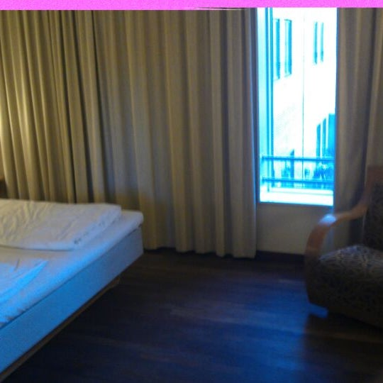Photo taken at Comfort Hotel Vesterbro by Joost B. on 3/19/2012