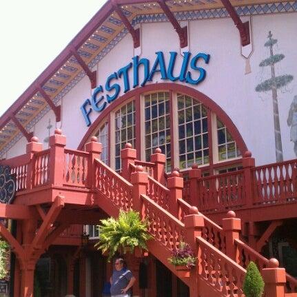 Photo Taken At Das Festhaus   Busch Gardens By Nick T. On 7/22