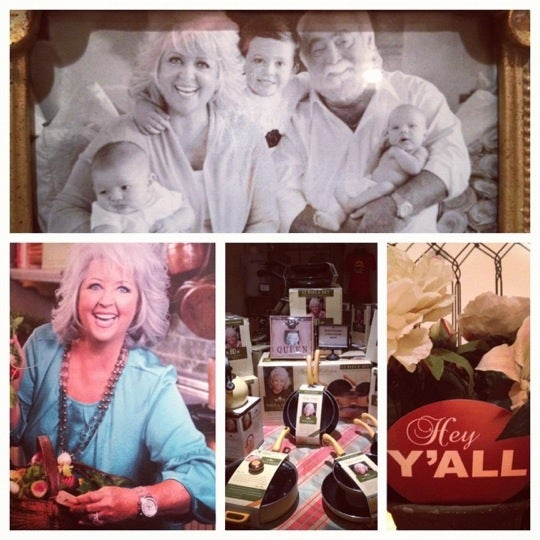 Photo taken at The Paula Deen Store by Thea B. on 2/19/2012