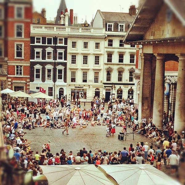 Photo taken at Covent Garden Market by Shaun L. on 8/10/2012
