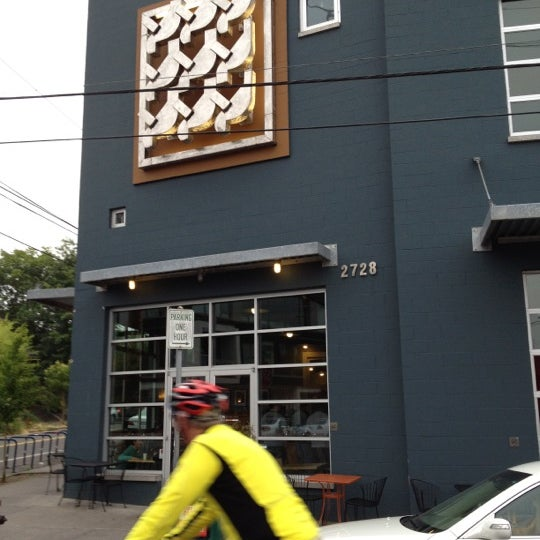 Photo taken at Crema Bakery and Cafe by James T. on 8/30/2012